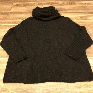Peruvian Connection Turtleneck Oversized Sweater